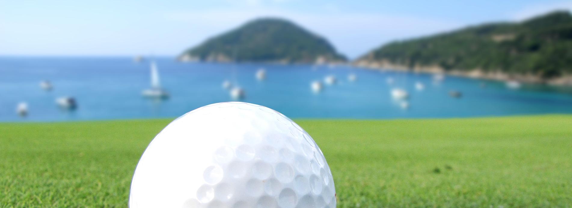 Segeln und Golf